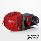 【PolarStar】健行水壺腰包『紅』P20806 露營.戶外.旅遊.自助旅行.多隔間.腰包.休閒包.側背包