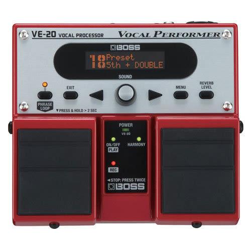 【金聲樂器廣場】 BOSS VE-20 Vocal Performer 人聲效果處理器