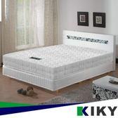 二代韓式克萊兒高碳鋼舒眠型彈簧單人加大床墊3.5尺