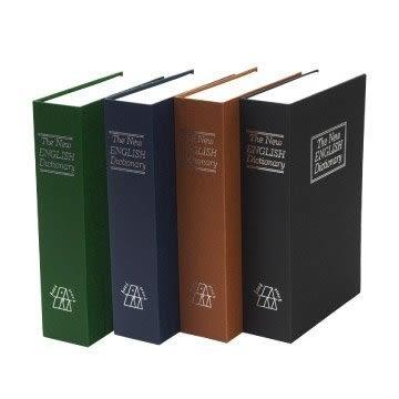 TRENY 書型保險箱-M號24*15.5*5.5cm仿真書鑰匙鎖保險箱 保險箱 小型保險箱 金庫【SL0662】Loxin