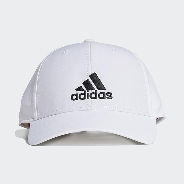ADIDAS BBALLCAP LT EMB 帽子 老帽 休閒 基本款 白【運動世界】GM6260