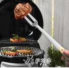 戶外長柄不銹鋼燒烤叉家用廚房大肉叉子牛排叉食物水果YYS 【快速出貨】