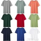 短袖T恤 2021年春夏新款白色純棉短袖T恤女寬鬆內搭疊穿打底衫上衣服ins潮 智慧 618狂歡