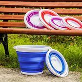 釣魚折疊桶 - 便攜式耐高溫可折疊水桶戶jy外車用家政清潔釣魚塑料桶【快速出貨八折下殺】