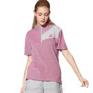 【Nittaku】男女吸濕排汗短POLO衫-粉紫#3155(排汗衫)