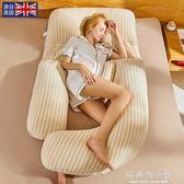 孕婦枕頭護腰側睡枕側臥靠枕孕u型睡枕多功能托腹睡覺墊腰枕抱枕 好再來小屋 igo