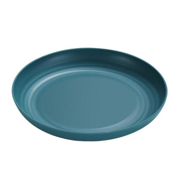 圓形塑料盤子菜盤家用2021新款果盤餐具套裝碟子餐盤水果盤ins風 {限時免運}