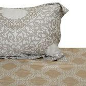 HOLA home楓采莫代爾床包枕套組 雙人