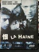 挖寶二手片-P02-418-正版DVD-電影【恨】-文森卡索 庫伯哥迪 薩伊德塔馬歐尼(直購價)