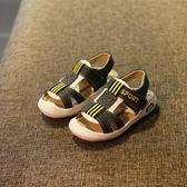 兒童男涼鞋 男童涼鞋2018新款 韓版 夏季兒童包頭涼鞋1-6歲小孩鞋童鞋【元宵節快速出貨八折】