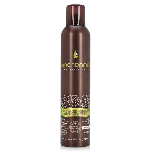 Macadamia Professional 瑪卡奇蹟油 強力定型霧 328ml (原廠公司貨) 【Emily 艾美麗】