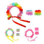WHY AND 1/2 造型領片(頭飾)+袖套組 多色可選