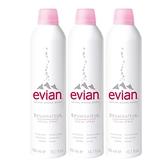 Evian 愛維養 護膚礦泉噴霧  300mlx3