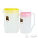 奶茶店塑料冷水壺耐高溫耐熱大容量涼水壺茶水壺果汁壺帶蓋量杯CY『新佰數位屋』