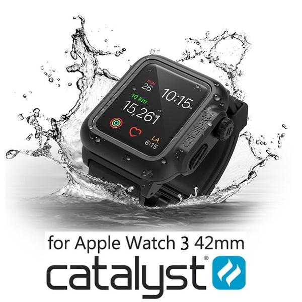 CATALYST FOR APPLE WATCH SERIES 3 (SERIES 2共用) 42mm LTE IP68 水下100米 防水保護殼