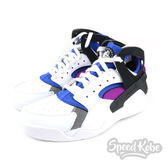 NIKE Air Flight Huarache Prm QS 白藍紫 籃球鞋 男 686203-100【Speedkobe】