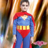 兒童角色扮演 藍紅 勇猛小超人 萬聖節童裝系列 角色扮演 表演服 天使甜心AngelHoney