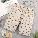 彩色動物園短褲-大象斑馬老虎超可愛-2款...