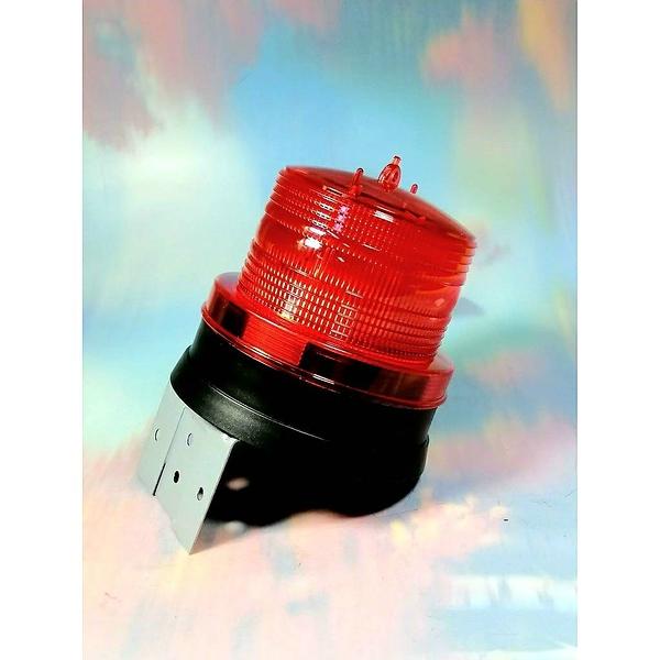 太陽能光控警示燈-L型鐵片 LD-P01【913987】太陽能警示燈 爆閃燈 施工燈 交通警示燈《八八八e網購