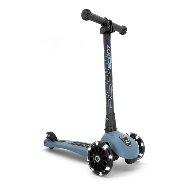 奧地利 Scoot & Ride Kick 3 LED炫輪滑板車(2色可選)