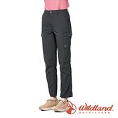 【wildland 荒野】女 SUPPLEX 抗UV功能調節長褲『松葉灰』0A91329 戶外 休閒 運動 吸濕 排汗 快乾