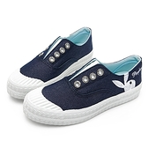 PLAYBOY活力靈感 簡約餅乾鞋-藍(Y6216)
