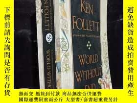 二手書博民逛書店ken罕見follett---world without end