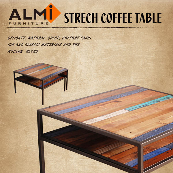 【ALMI】RECYCLED- SIDE TABLE 伸縮咖啡桌