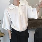 FINDSENSE H1 2018 夏季 新款 簡約大翻領 蝙蝠衫 顯瘦 長袖