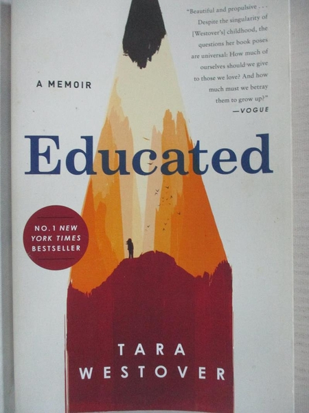 【書寶二手書T1/傳記_A7D】Educated: A Memoir_Tara Westover