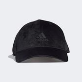 Adidas Bball Velvet CA [FS9006] 棒球帽 老帽 天鵝絨 運動 休閒 柔軟 遮陽 黑