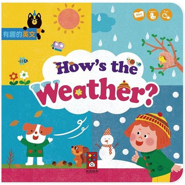 How,s the Weather?(天氣如何?)有趣的英文