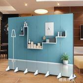 熱賣折疊屏風隔斷玄關客廳臥室3D時尚簡約背景牆男女主播直播MBS『潮流世家』