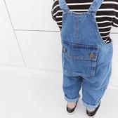 寶寶背帶褲男百搭洋氣時尚兒童牛仔褲潮