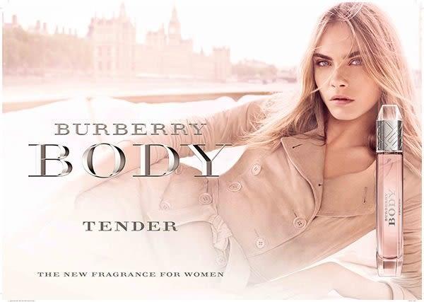 BURBERRY BODY TENDER 清甜裸紗女性淡香水 4.5ml 27730《Belle倍莉小舖》