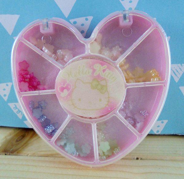 【震撼精品百貨】Hello Kitty 凱蒂貓~KITTY DIY組-彩繪指甲珠珠DIY-心造型