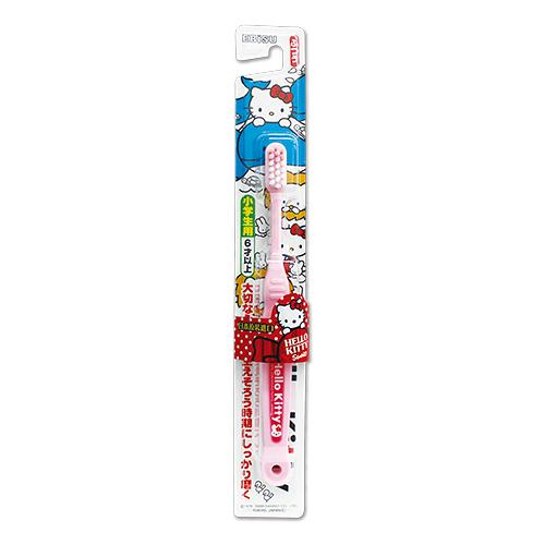 日本 EBiSU Kitty 兒童牙刷 1入 (6歲以上)【BG Shop】
