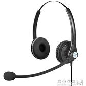 A26話務員頭戴式客服耳機話務耳麥座機電銷降噪USB手機電腦 遇見生活
