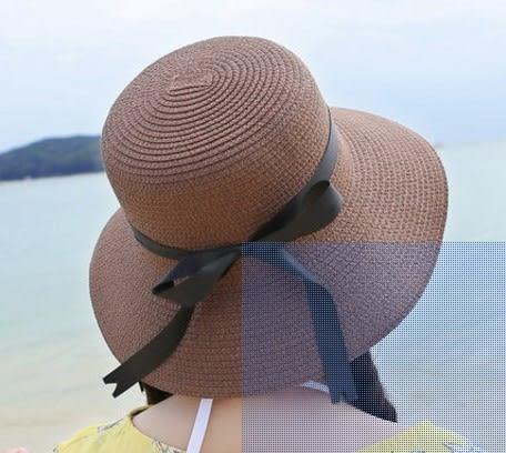 [協貿國際]  女士春天可折疊防曬帽夏天海邊海灘太陽帽 (1入)