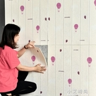 卡通牆紙自黏臥室溫馨女孩兒童房間泡沫防水防潮自貼背景壁紙家用 小艾時尚NMS