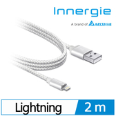 Innergie MagiCable USB to Lightning 充電傳輸線 白 2m