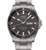 MIDO 美度 Ocean Star 海洋之星鈦金屬潛水腕錶(M0264304406100)42mm