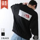 背面印刷運動衫 寬版運動衫