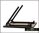 {{ 海中天休閒傢俱廣場 }} C-99 摩登時尚 餐桌腳系列 485-30 新型專利餐桌腳/烤黑/烤銀腳