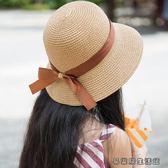 親子兒童草帽女童夏季遮陽帽 易樂購生活館