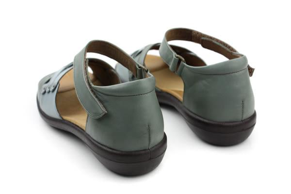 Moonstar 涼鞋 綠 女鞋 no995