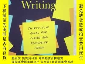 二手書博民逛書店Economical罕見Writing: Thirty-five Rules For Clear And Pers