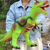 仿真軟膠大號恐龍玩具電動霸王龍動物模型超大套裝塑膠兒童男孩 MKS小宅女