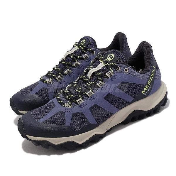Merrell 戶外鞋 Fiery GTX Gore-Tex 紫 女鞋 登山鞋 防水 耐磨 【ACS】 ML16602