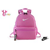 NIKE BRASILIA JUST DO IT 兒童背包 後背包 雙肩 書包 A0520#粉紅◆OSOME奧森鞋業